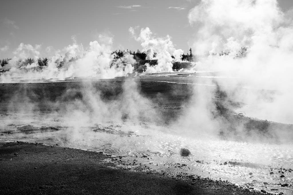 Yellowstone National Park, Wyomming, 2014, © Luc Litzler